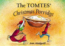 The Tomtes' Christmas Porridge cover