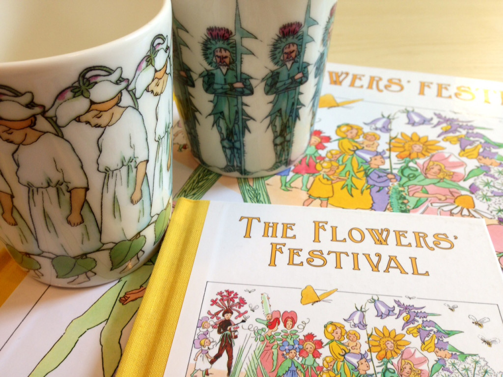 The #FlorisDesign team love their Beskow mugs! These characters are found in Elsa's book 'The Flower's Festival'