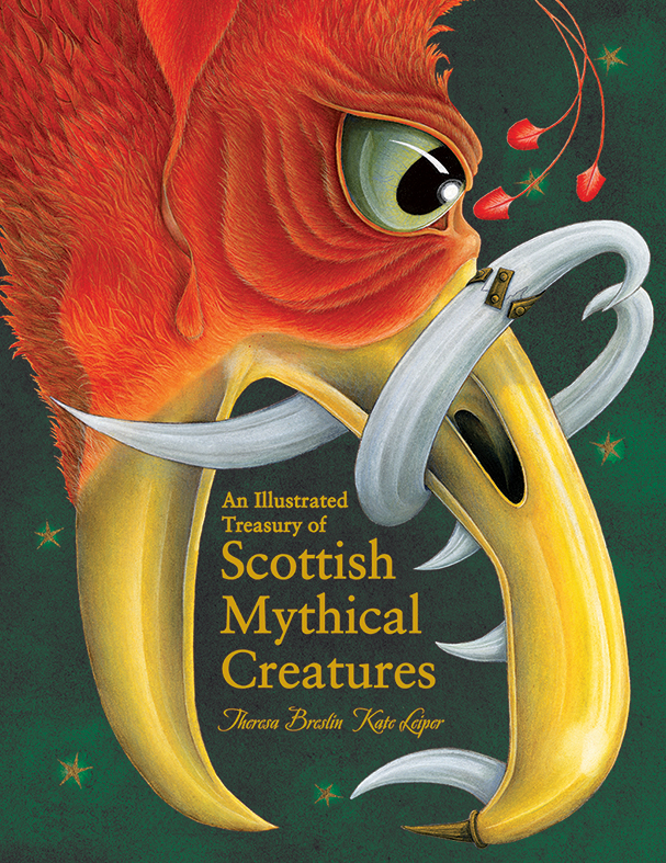 Illustrated Treasury of Scottish Mythical Creatures cover