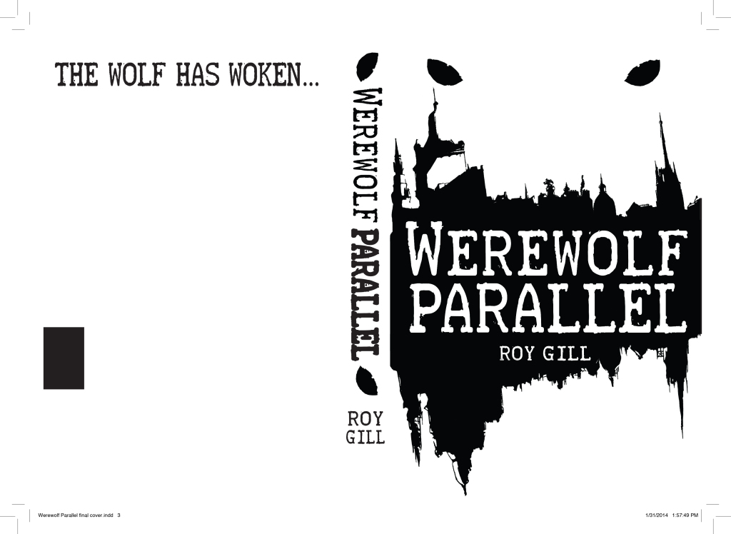 Werewolf Parallel cover SPOT UV