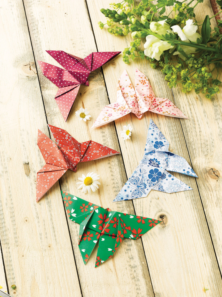 Inspired by this tradition, instructions for beautiful paper butterflies can be found in 'Paper Folding with Children'