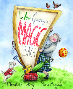 Wee Granny's Magic Bag book cover