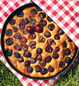 National Baking Week: Cherry focaccia