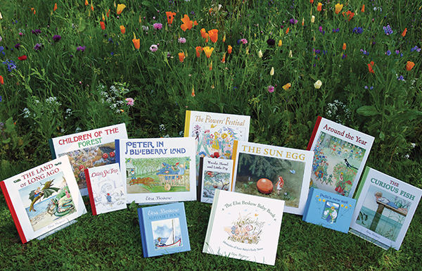 A selection of beautiful books by Elsa Beskow