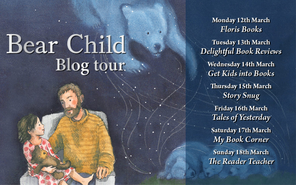 Geoff Mead and Sanne Dufft - Bear Child blog tour
