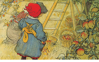 Illustration from A Farm by Carl Larsson