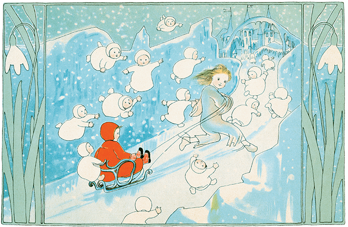 Illustration from The Story of the Snow Children by Sibylle von Olfers