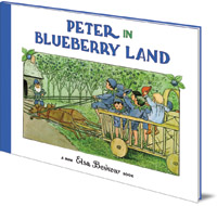 Elsa Beskow - Peter in Blueberry Land: Mini Edition