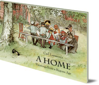 Original Artwork by Carl Larsson; Polly Lawson - A Home: Paintings from a Bygone Age
