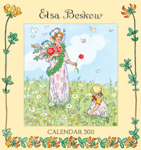 Illustrated by Elsa Beskow - Elsa Beskow Calendar: 2011