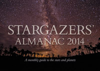 Bob Mizon - Stargazers' Almanac: A Monthly Guide to the Stars and Planets: 2014