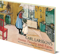 Original Artwork by Carl Larsson; Polly Lawson - Carl Larsson's Home, Family and Farm: Paintings from the Swedish Arts and Crafts Movement