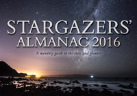 Bob Mizon - Stargazers' Almanac: A Monthly Guide to the Stars and Planets: 2016