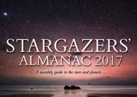 Bob Mizon - Stargazers' Almanac: A Monthly Guide to the Stars and Planets: 2017