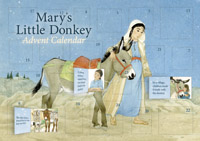 Gunhild Sehlin; Illustrated by Hélène Muller - Mary's Little Donkey Advent Calendar