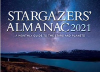 Bob Mizon - Stargazers' Almanac: A Monthly Guide to the Stars and Planets: 2021