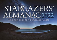 Bob Mizon - Stargazers' Almanac: A Monthly Guide to the Stars and Planets: 2022