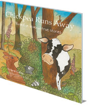 Sarat Colling; Illustrated by Vicky Bowes - Chickpea Runs Away