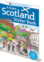 Illustrated by Susana Gurrea - A Super Scotland Sticker Book
