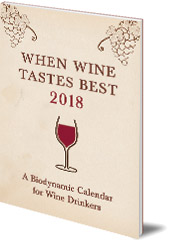 Matthias Thun - When Wine Tastes Best: A Biodynamic Calendar for Wine Drinkers: 2018
