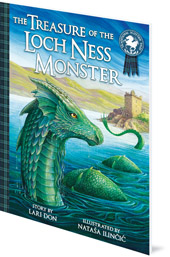 Lari Don; Illustrated by Nataša Ilinčić - The Treasure of the Loch Ness Monster