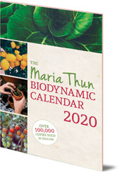 Matthias Thun - The Maria Thun Biodynamic Calendar: 2020