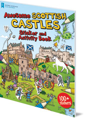 Illustrated by Moreno Chiacchiera - Awesome Scottish Castles: Sticker and Activity Book