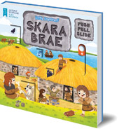 Illustrated by Louise Forshaw - Little Explorers: Skara Brae (Push, Pull and Slide)