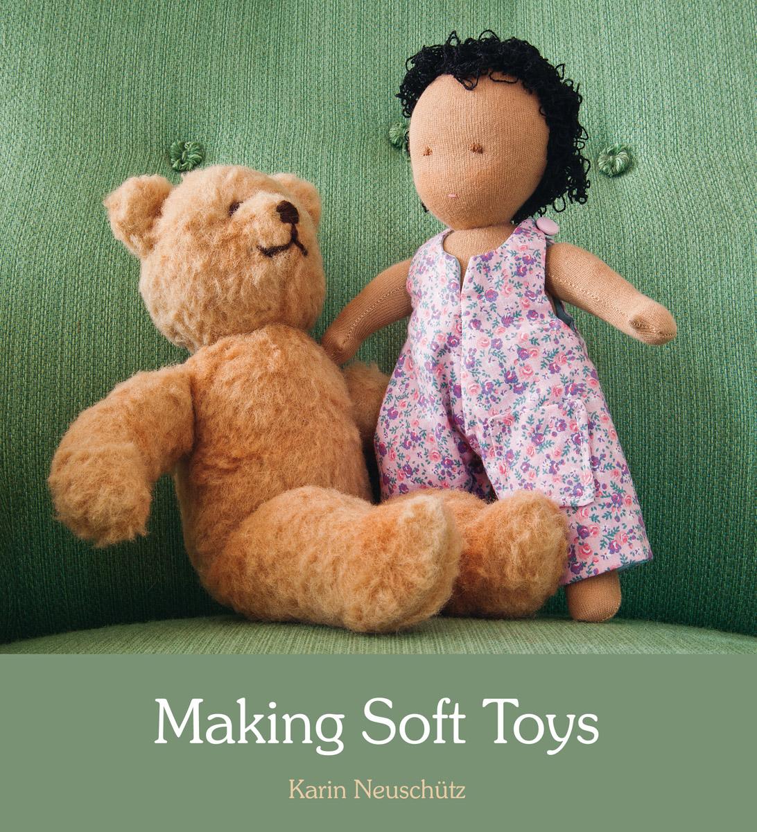 Karin Neuschutz Making Soft Toys Floris Books