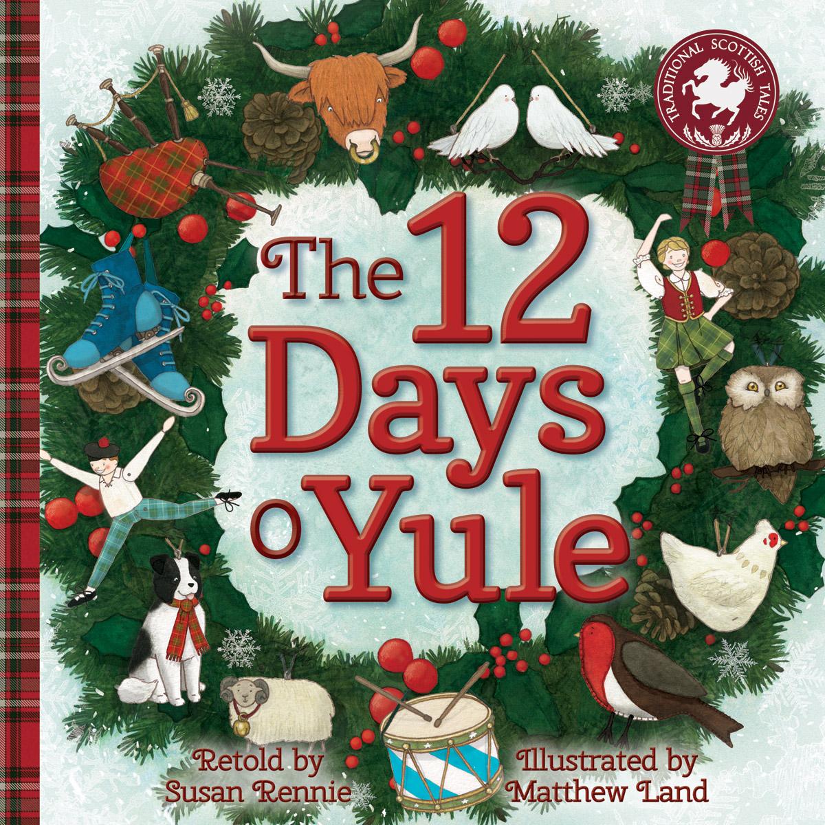 Susan Rennie - 12 Days o Yule - Floris Books