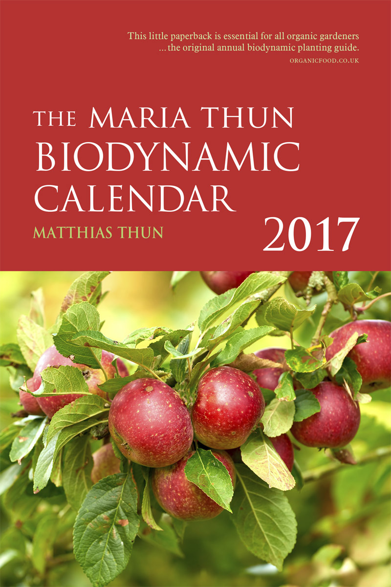 Thun Calendario.Matthias Thun Maria Thun Biodynamic Calendar Floris Books