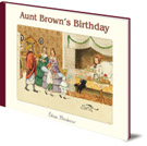 Elsa Beskow, Aunt Brown's Birthday cover image