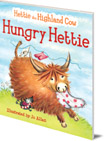 Hungry Hettie: The Highland Cow Who Won't Stop Eating!