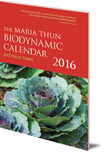 The Maria Thun Biodynamic Calendar: 2016